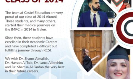 Castel Alumni and RCSI Graduates of 2021